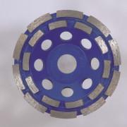 Hitachi Diamant komschijf type dubbele rij 125x22.2mm