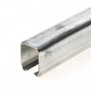 Henderson schuifdeur bovenrail 290 staal verzinkt 4000mm