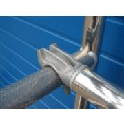 Kelfort Horizontaalschoor voor rolsteiger, aluminium, rood