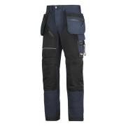 RuffWork broek+ holsterzak. navy/zwart