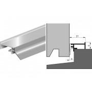Luvema Tochtprofiel acrylbestendig 802N.AR buitendraaiende ramen