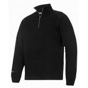 Snickers Zip Sweater 2813 zwart maat L
