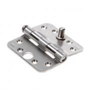 Axa Smart Veiligheidsscharnier ronde hoeken topcoat gegalvaniseerd 89 x 89 x 3mm SKG** 1617-09-23/VE