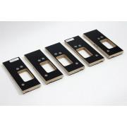 Riens Scharnierfreesmal voor deuren en ramen met tochtstrip set 5-delig 89 x 89mm
