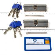 Winkhaus Cilinder dubbel bu40/bi40 P2 skg***RPSm/certificate+ 6 sleutels