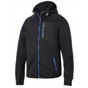 Snickers stretch fleece hoodie zwart XL