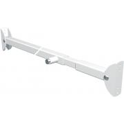 Secu Schuifpuibeiliging plus staal geepoxeerd wit 89-128cm SKG** 2010.370.04