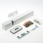 Axa remote 2.0 met raamopener wit voor draairaam buitendraaiend rechts SKG** 2902-60-98