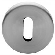 Entra Sleutelrozet mat nikkel 50mm rond per paar