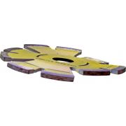 Voorden Novus riot voegenfrees diameter 130 x asgat 22.2mm