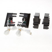 Koordbed.set Ducofit ventilatierooster  50 zwart
