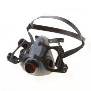 Halfmasker N5500 dubbel zwart filter medium