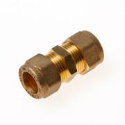 Installatiebranche Rechte koppeling 2x knel 12x 12mm
