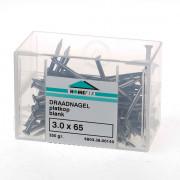 Draadnagel platverzonkenkop staal blank (kleinverpakking)