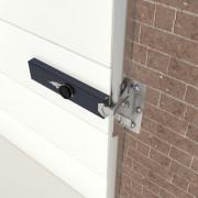 SecuMax garagedeurbeveiliging cilinder binnen en buiten zwart gecoat SKG** 2510.015.03