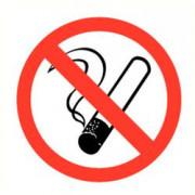 ATV Safety Roken verboden 90mm PVC 331