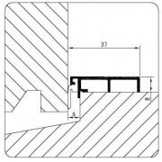 Luvema Nieuwbouwprofiel acrylbestendig 806N.AR