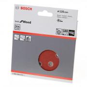 Bosch Schuurschijf 8-gats wood and paint diameter 125mm K180 blister van 5 schijven