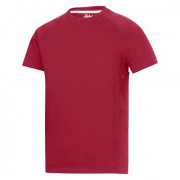 Snickers t-shirt 2504 rood maat XXL