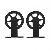 Intersteel set van 2 rollers spaakwiel 170mm tbv schuifdeurset