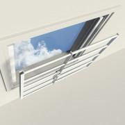 SecuBar Plus 4 raam- en lichtkoepelbeveiliging wit hoogte 71cm uitschuifbaar 99-150cm SKG** 2010.400.400
