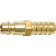 Kelfort Insteeknippel voor luchtkoppelingen messing met slangtule inwendige diameter 8mm 1524395