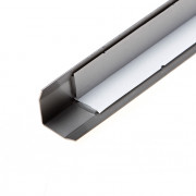 Oxloc Hoekbeschermer RVS zelfklevend 25 x 25 x 1mm x 1.5 meter