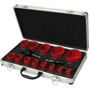 Kelfort Gatzaagset Bi-metaal Combi Monteur aluminium koffer 19-76mm