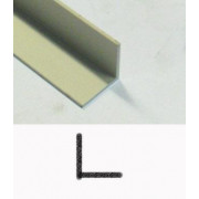 Aluminium geanodiseerd hoekprofiel