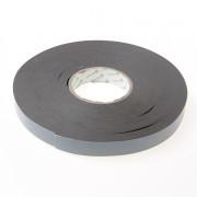 Zelfklevende tape zwart 22mm x 50 meter