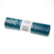 LDPE afvalzakken blauw t70 65/25x140