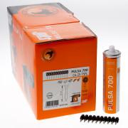 Spit pulsa nagel C 6 x 25mm + gas p700