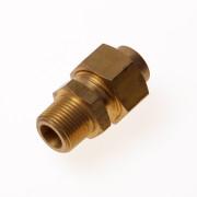 """DPS Koppeling 3-delig conisch dichtend buitendraads 3/8"""" x 12mm"""