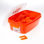 Kelfort Uitvulplaatjes oranje 2mm zak van 345 plaatjes