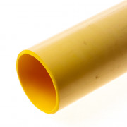 Dyka Buis tbv gasinvoerbocht PVC geel 63 x 3mm