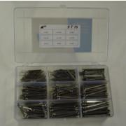 Fabory Assortimentsdoos kraalringen plastic 9 T 13