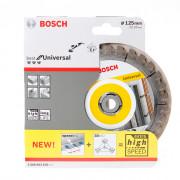 Bosch Diamandschijf Best for Universal + Metal diameter 125 x asgat 22.2mm