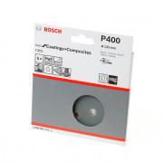 Bosch Schuurschijf coating and composites diameter 125mm K400 blister van 5 schijven