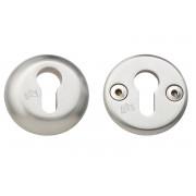 Veiligheidsrozet met cilindersparing rond/afgerond Douro SKG***, roestvaststaal 316/304