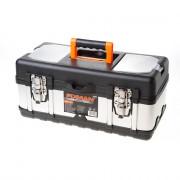 Fixman gereedschapskoffer leeg, met inlegbakje, materiaal metaal/kunststof 400x190x180mm (lxdxh)