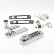 Dulimex KNSV-1155 SCP Mechanisch codeslot inbouw nachtschoot en vastzetter 0163.411.5507