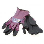 Atg Handschoen Maxidry  paars/zwart mt.11