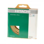 Hikoki Strimdraad nylon 2.4mm groen 15 meter 781424