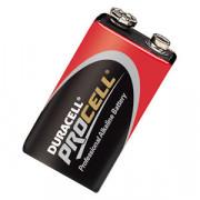 Duracell Batterij stapel 9.0v pc1604 blister van 10 batterijen