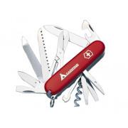 Victorinox Zakmes swissarmy ranger met logo rood 21 functies