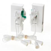 Koordbed.set Ducoklep ventilatierooster 15/k24 wit