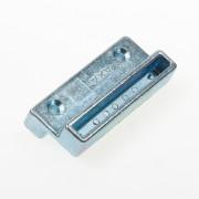 Axa Opbouwsluitkom met verzet 8 mm voor raamsluitingen 3309-3308-3302 zamac galvanisch verzinkt 3307-87-64/E