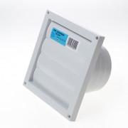 Dupont Lamellenrooster kunststof grijs 165 x 165mm