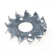 GB Kramplaat dubbelzijdig getand sendzimir verzinkt diameter 21mm 07283