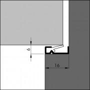 Ellen Nieuwbouwprofiel acrylbestendig wit 3 meter